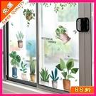 窗貼 小清新窗花貼玻璃門貼紙幼兒園牆面裝飾教室布置牆貼畫牆紙自黏 鉅惠85折