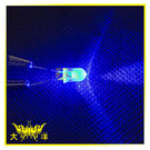◤大洋國際電子◢ 5mm透明殼 藍光 高亮度LED (1000PCS入) 0627-BL LED 二極管