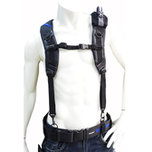 Niche 工具肩背帶 雙肩背吊帶 水電工作吊帶 人體工學減壓背帶 可加購腰帶/護腰墊和工具包 TL-6203