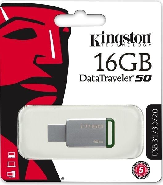 【台中平價鋪】全新 金士頓 KINGSTON DT50/16GB USB 3.0隨身碟