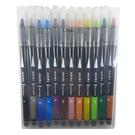 【奇奇文具】英士 CB-600-12C 卡式彩繪毛筆(12色入)
