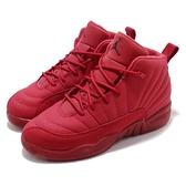 Nike Air Jordan 12 Retro PS Gym Red 紅 全紅 喬丹 12代 童鞋 中童鞋 運動鞋【ACS】 151186-601
