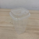 加厚一次性帶蓋透明杯塑膠杯果汁杯免洗杯外...