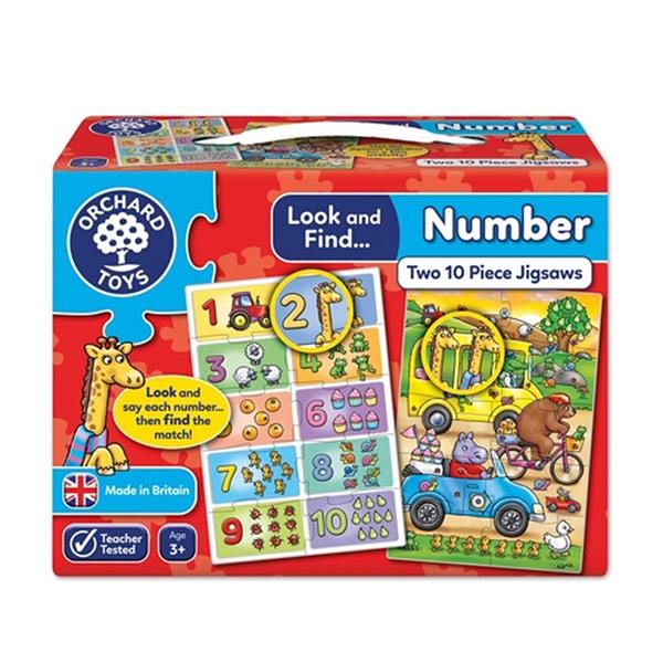 【英國 Orchard Toys】拼圖 小偵探系列-點點數量 OT-331