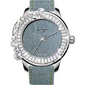 Galtiscopio迦堤 Denim Collectio 丹寧系列率性手錶-50mm JS16SS001LDENIM