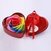 618好康又一發七彩鐵盒香皂花玫瑰創意禮品公司活動婚慶回禮品情人節