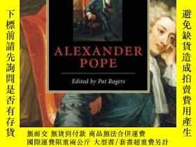 二手書博民逛書店The罕見Cambridge Companion To Alexander PopeY255562 Pat R