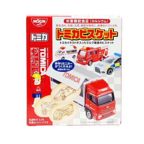 日本 日清食品 TOMICA 汽車餅乾(小汽車模型! 隨機出貨)[衛立兒生活館]