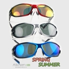 超能行者 偏光太陽眼鏡 X型雙色烤漆鏡框...