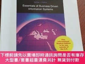 二手書博民逛書店9780071270342罕見essentials of business driven information