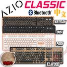 [ PC PARTY ] 送馬克杯 AZIO RETRO CLASSIC 藍芽 復古打字機鍵盤 ELWOOD/POSH/ ARTISAN