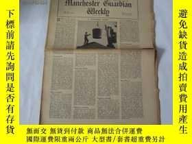 二手書博民逛書店外文原版報紙罕見THE MANCHESTER GUARDIAN WEEKLY 1948年12月2日 第23期 共1