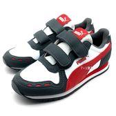 《7+1童鞋》中童  PUMA  Cabana Racer SL V  PS  輕量 復古款  運動鞋 8241  灰色