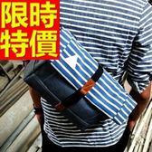尼龍側背包-好收納可肩背個性輕盈男女郵差包3色57b35【巴黎精品】