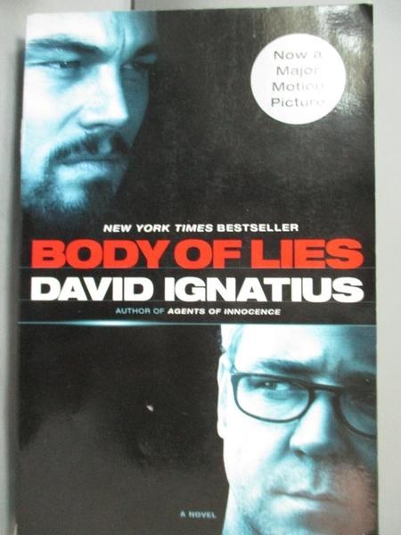 【書寶二手書T6/原文小說_CVG】Body of Lies_Ignatius, David