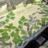 北歐茶幾桌布布藝棉麻小清新歐式網紅桌布ins餐桌防水防油長方形