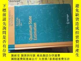 二手書博民逛書店c0014精裝quantum罕見state estimation