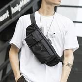 運動腰包 運動多功能小腰包男女士大容量收錢收銀包生意手機包挎學生胸包 伊蘿鞋包