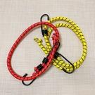 尼龍繩 捆綁繩 綁帶 雙勾 彈力繩 掛鉤 鬆緊帶 D 露營繩 彈力帶 彈性捆綁繩【N218】生活家精品