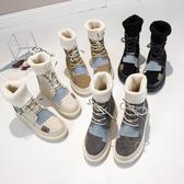 馬丁靴女鞋2020秋冬季新款英倫風百搭潮鞋平底加絨棉鞋雪地短靴子