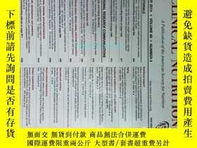 二手書博民逛書店THE罕見AMERICAN JOURNAL OF CLINICAL NUTRITION 2014 05 美國臨床營