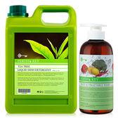 83折!PERTH`S KEY茶樹清潔碗盤液+蔬果清潔液