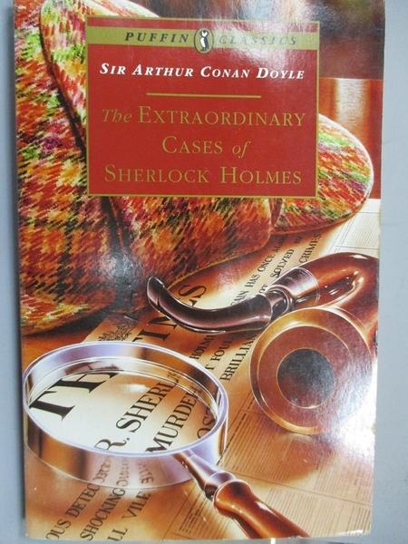 【書寶二手書T1/原文小說_MLF】The Extraordinary Cases of Sherlock Holmes_Sir Arthur..