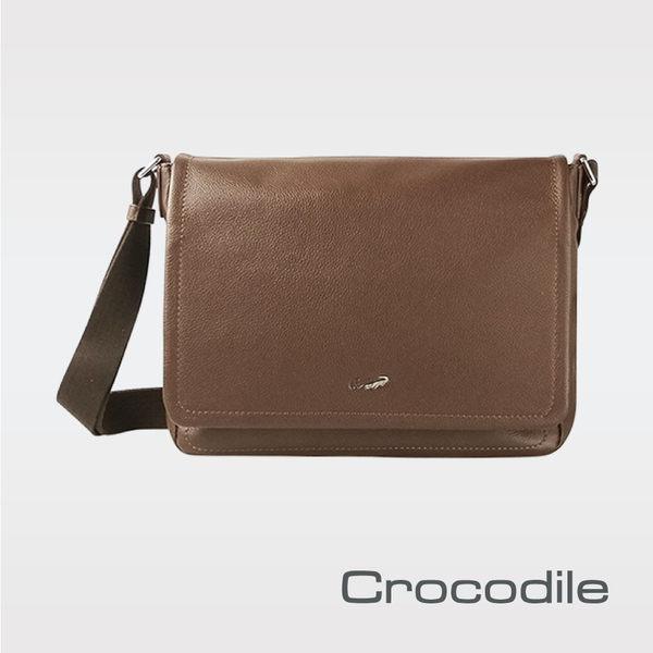 Crocodile Rocky 2.0系列橫式翻蓋斜背包  0104-08104