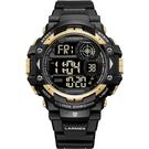 Transformers 變形金剛 聯名限量運動風電子腕錶(鋼鎖)LM-TF005.GLG1N.121.1NG