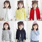 兒童針織開衫薄款春秋裝毛衣小童寶寶嬰兒外套女童針織衫秋冬洋氣 小山好物
