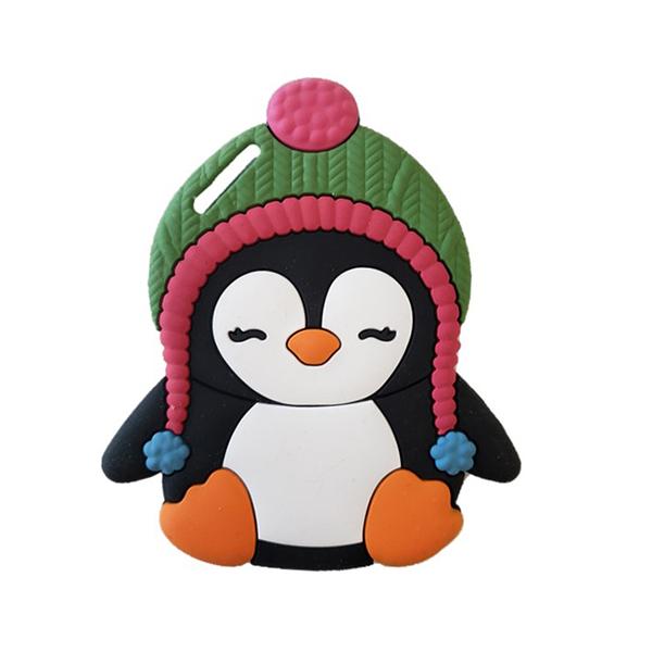 【愛吾兒】美國 SiLLi CHeWS  小企鵝咬牙器  固齒器 美國設計 3個月以上適用