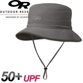 【Outdoor Research 美國 SUN BUCKET 抗UV透氣中盤帽〈灰〉】243471/中盤帽/登山帽/防曬帽/抗UV