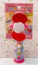 【震撼精品百貨】Hello Kitty 凱蒂貓~三麗鷗 KITTY安全風扇-紅#00931