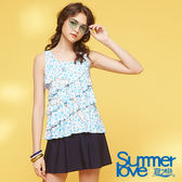 【Summer Love 夏之戀】浪漫風兩件式泳衣(S18730)