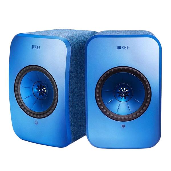 英國 KEF LSX Wireless 藍色 Hi-Fi 主動式藍芽無線喇叭 送超商500元 公司貨