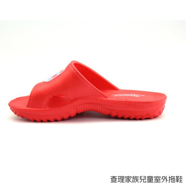【333家居鞋館】兒童款★查理家族兒童室外拖鞋-藍