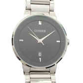 CITIZEN 星辰 不銹鋼石英腕錶 Mens  G111-9101760 【BRAND OFF】