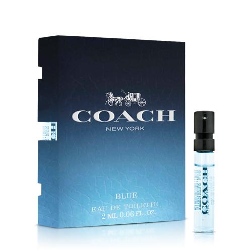 Coach 時尚藍調男性淡香水針管(2ml)【ZZshopping購物網】