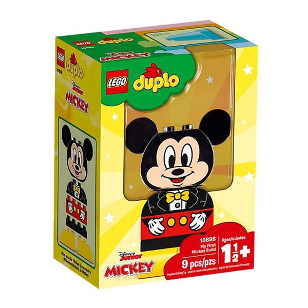 【LEGO 樂高 積木】10898 得寶 Duplo 我的第一套米奇拼圖 My First Mickey Build (9pcs)