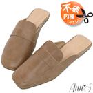 獨家打版舒適顯瘦的方型楦頭 嚴選柔軟真皮牛皮打造鞋身,舒適透氣 Line ID:@annsshop