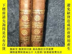 二手書博民逛書店1794年罕見SERMONS BY LAURENCE STERN