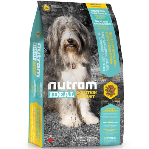 【寵物王國】nutram紐頓-I20三效強化成犬(羊肉糙米)13.6kg