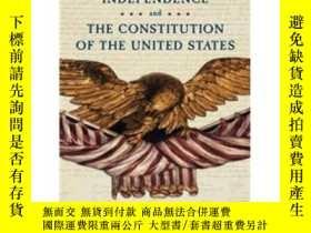 二手書博民逛書店The罕見Declaration of Independence and Constitution of the