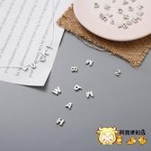 英文字母吊飾 情侶對鍊 純銀項鍊 鎖骨鏈 925純銀項鍊 項鏈 字母 純銀 銀項鍊 銀吊墜飾品 S925 4110