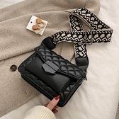 法國小眾包包女2020新款潮韓版單肩高級感洋氣網紅時尚菱格斜挎包