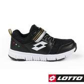 LOTTO 童鞋 SPACERUN 太空漫步輕量慢跑鞋 (黑) 運動鞋 LT8AKR8030【 胖媛的店 】