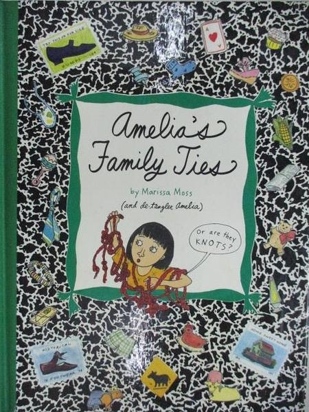 【書寶二手書T7/少年童書_ABP】Amelia s Family Ties_Simon&Schuster