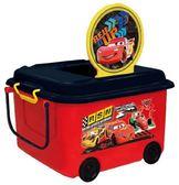 日本 迪士尼 Disney 閃電麥昆(Cars)堆疊式玩具收納車/收納箱