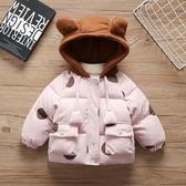 兒童棉衣 女童裝洋氣棉衣棉襖2幼兒羽絨棉服1歲女寶寶冬裝兒童童冬季外套