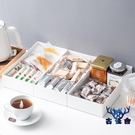 抽屜整理餐具口紅收納分隔盒桌面儲物盒【古怪舍】